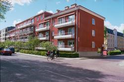 Bostadshus, Vaksalagatan 36 A-D, kvarteret Ejnar, Kvarngärde