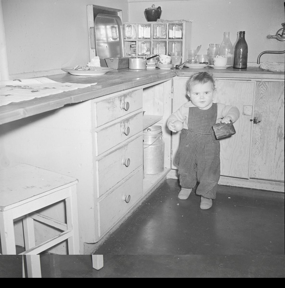 Arne Wold ved kjøkkenbenken