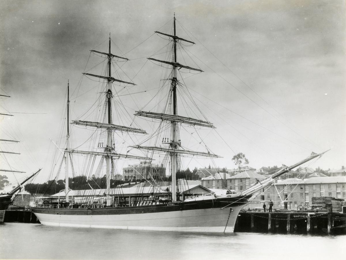 Bark 'Ethel' (b.1876, S. P. Austen & Hunter, Sunderland, England)