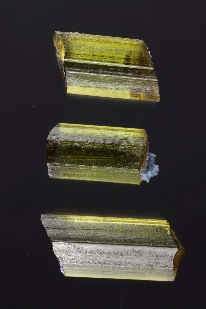 4 krystallbiter, edle