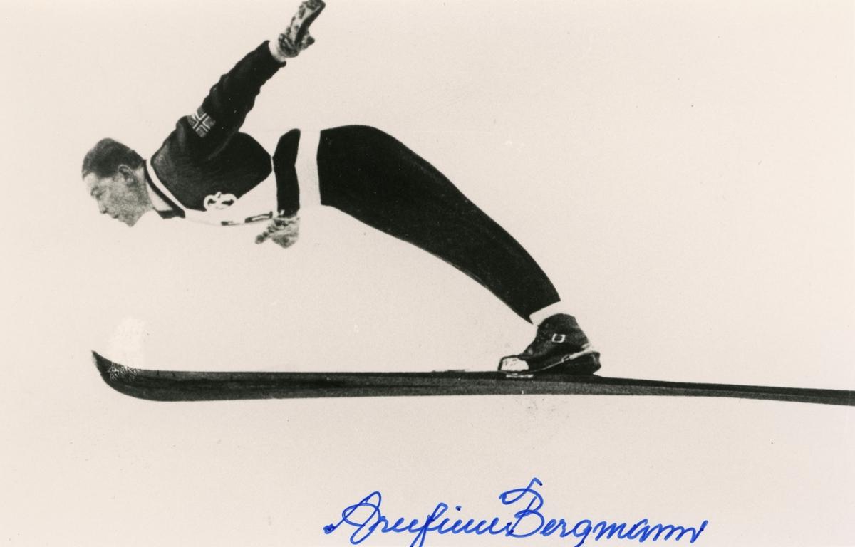 Athlete from Numedal Arnfinn Bergmann