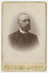 Porträtt av Axel James Pontus von Rosen.
