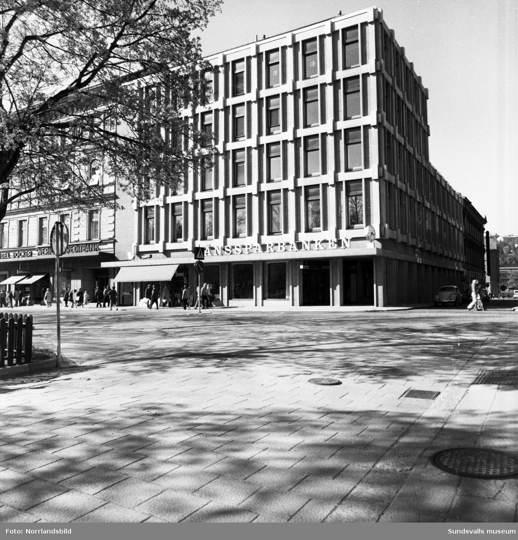 Sparbankens hus vid Storgatan 20, Bankgatan 8.