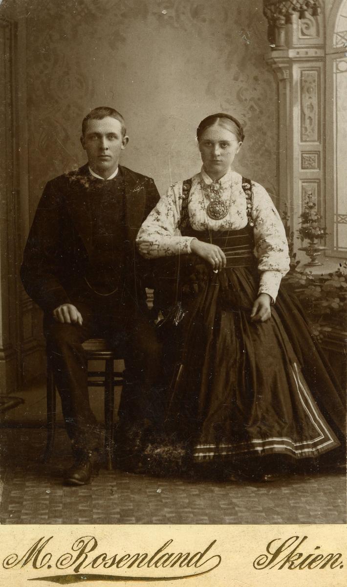 Parfoto av Anne og Halvor Kleppen
