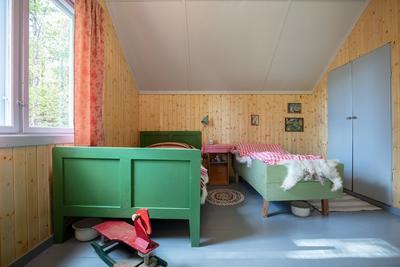 Soverom i bolighuset fra Olderfjord