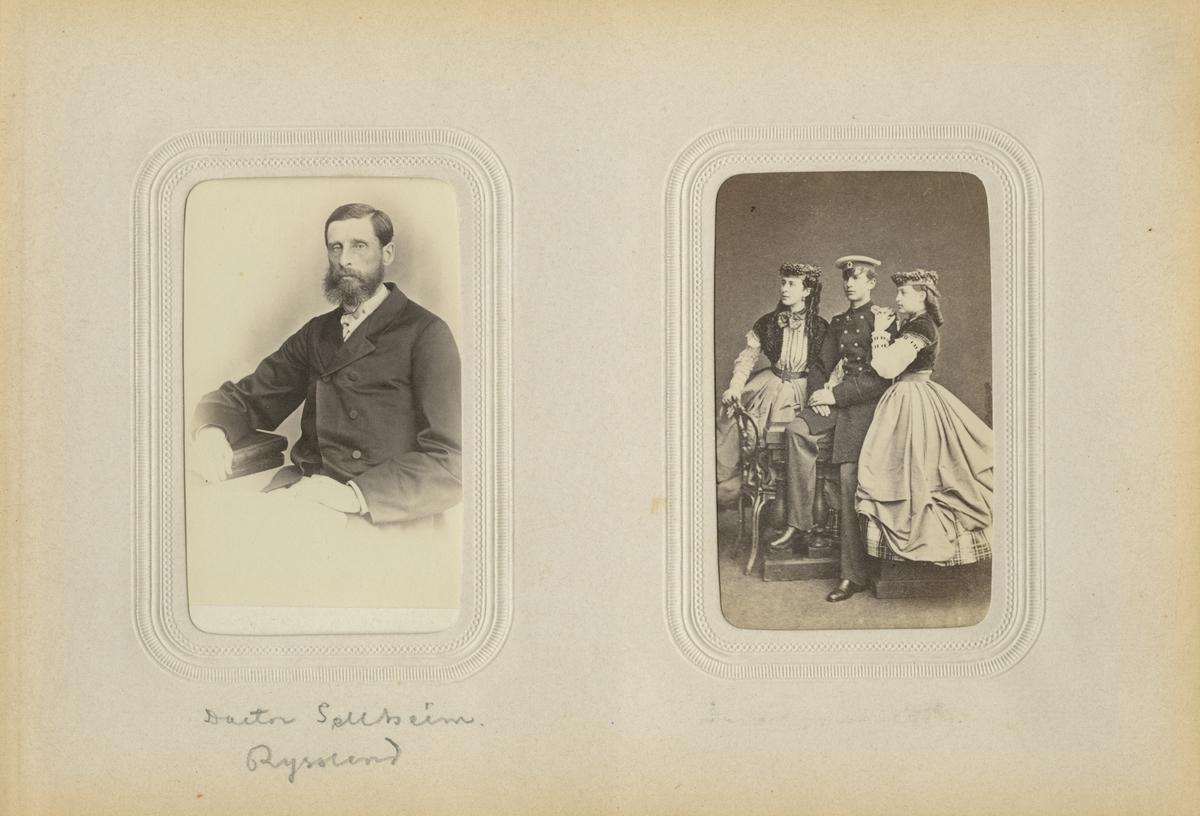Porträtt av doktor Friedrich Wilhelm Sellheim.
