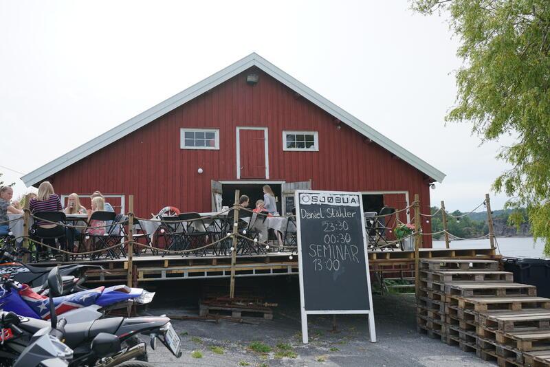 Sjøbua. Foto: Rockheim