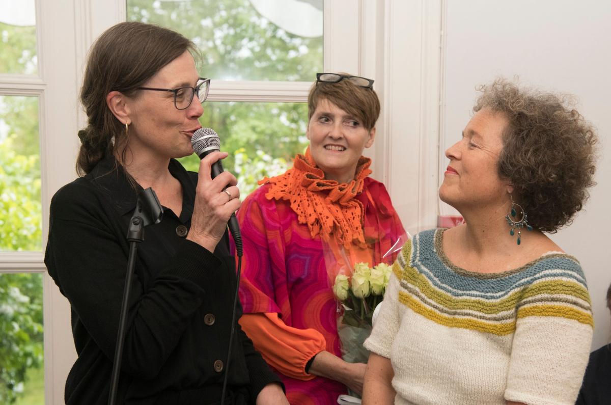 Mona Holm, Kristin E. Halkjelsvik og Ingun Grimstad Klepp