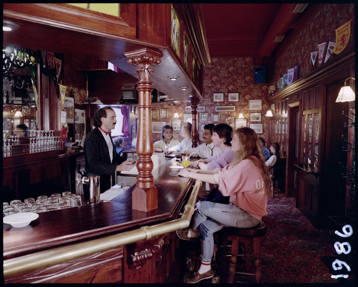 En engelsk pub i Haugesund sentrum.