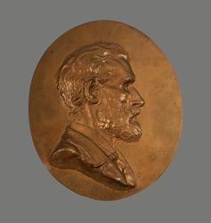 Emil Victor Langlet [Bronserelieff]