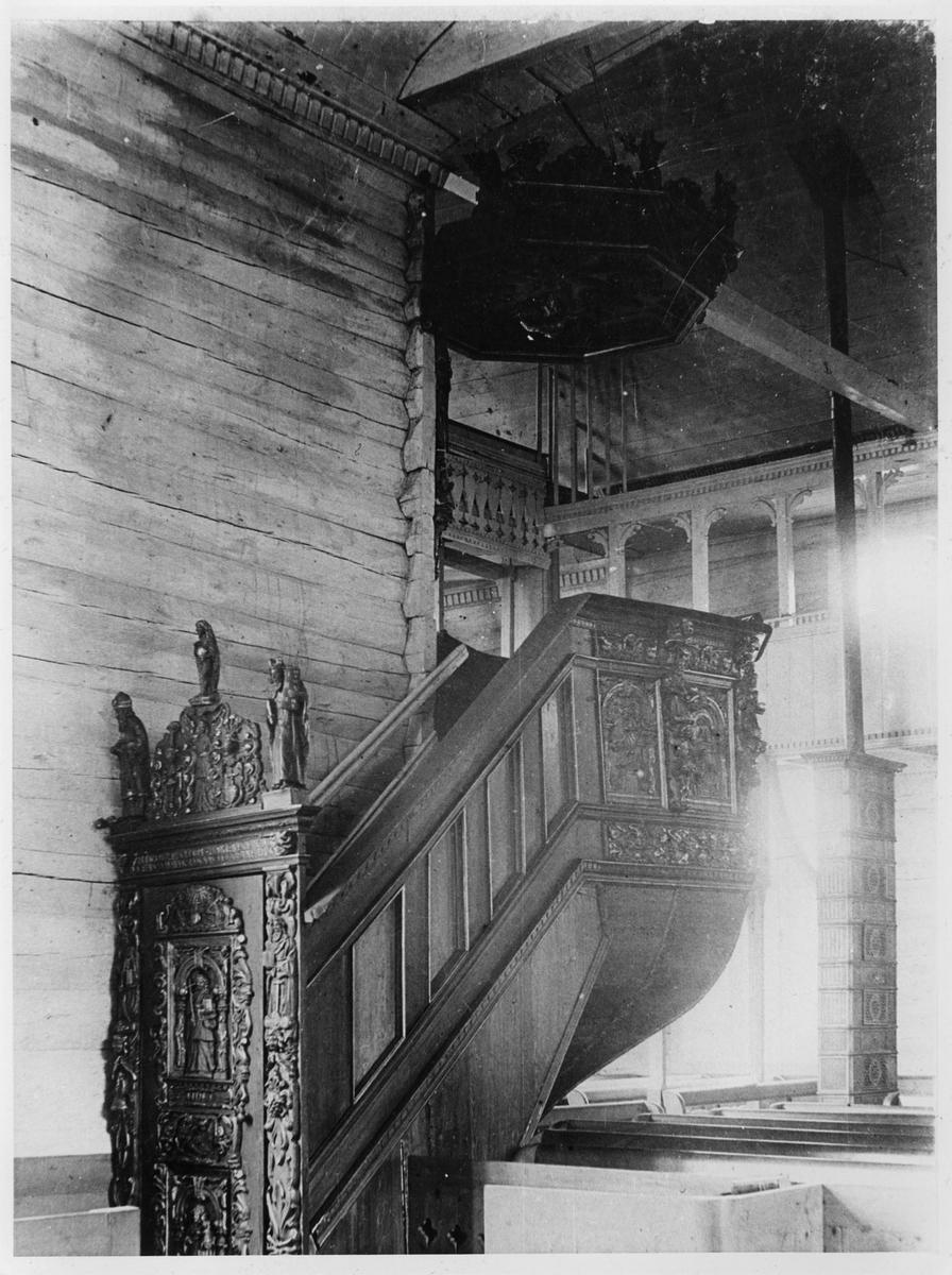 Prekestolen i Sokndal kirke