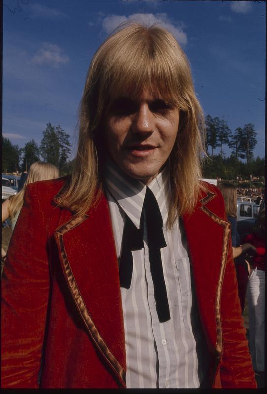 Janne Løseth. Fra Ragnarock i 1974. Foto: Svein Boye Andersen. (Foto/Photo)