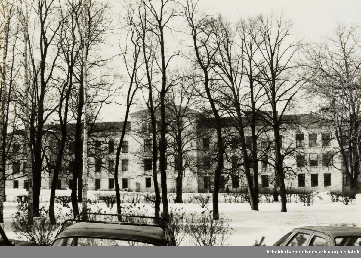 Lovisenberg sykehus. November 1992