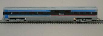 Modell i skala 1:87 av bistrovagn Litt URA2 Nr 2602 från X2000-tågsätt.  Modell/Fabrikat/typ: Ho