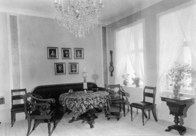 «Werner-rommet» – et av interiørene i Byavdelingen. (Foto/Photo)