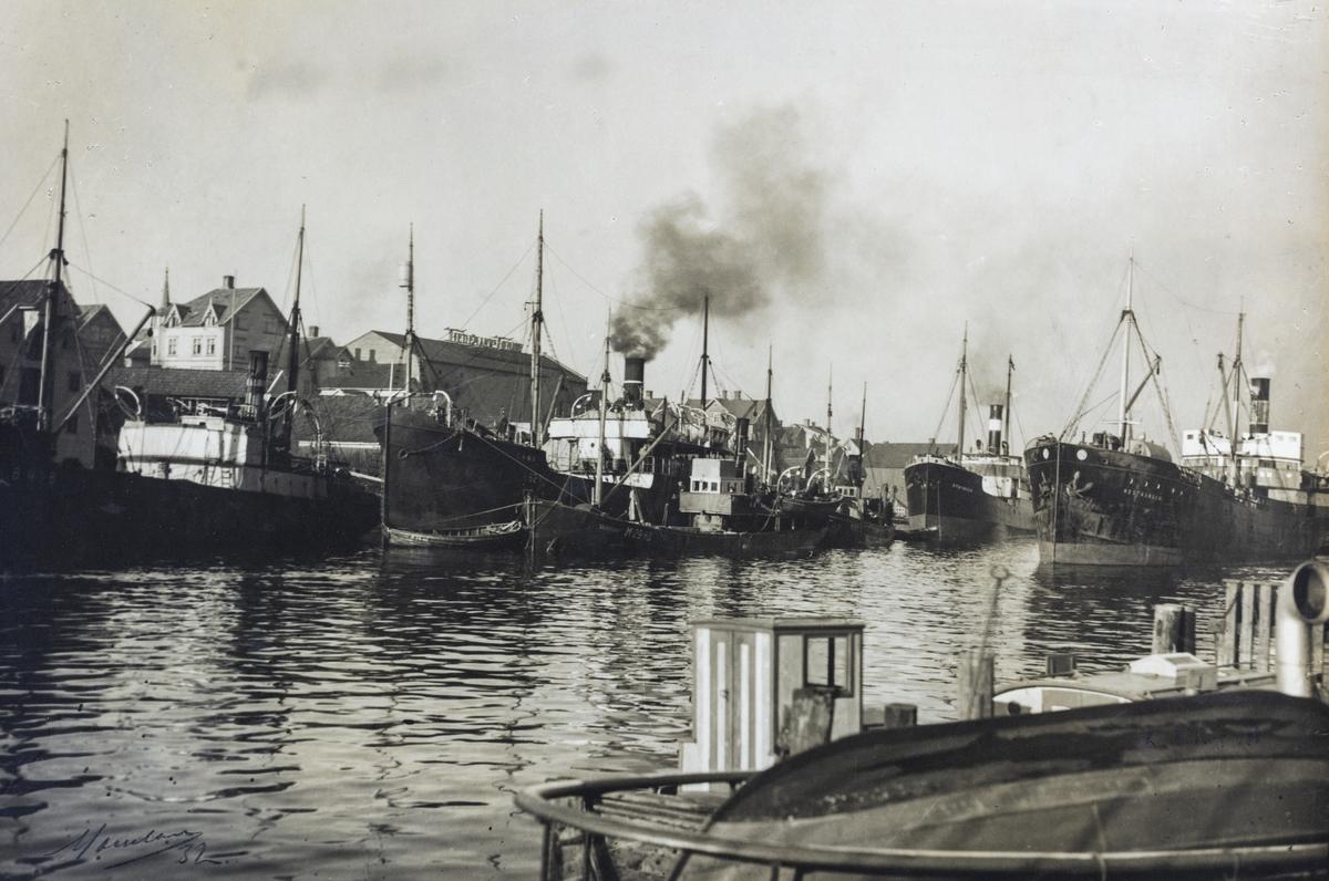 Smedasundet sett mot nordvest, ca. 1930.