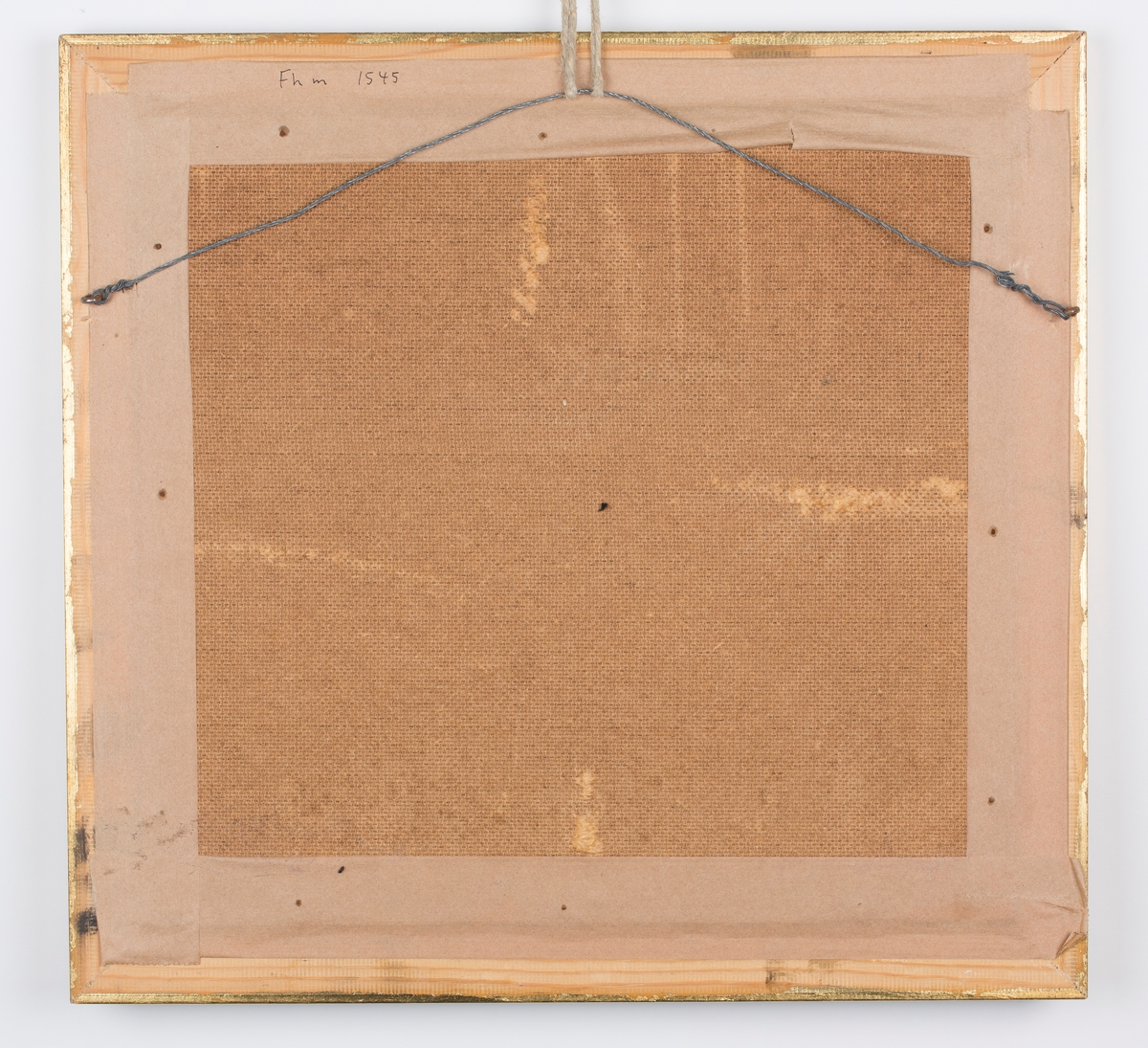 Oljemaleri i gulramme av Anton Thoresen, Blomstermotiv.