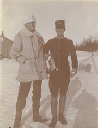 "Text i fotoalbum: ""Kungl. Krigshögskolans vinterfältövningar"
