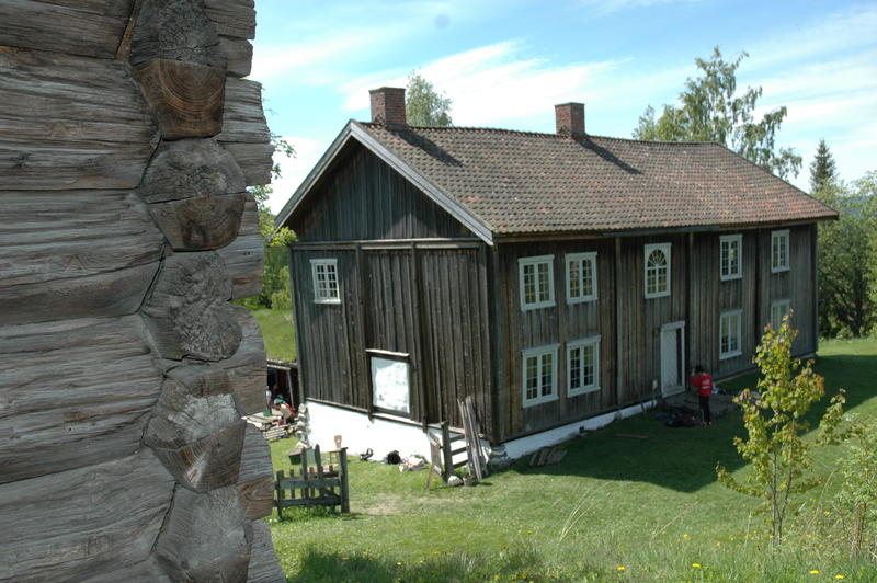 Grinakerbygningen fra Halvdanshaugen. Foto: Tor Lindseth (Foto/Photo)