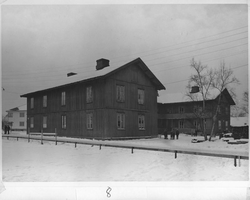 Brandvoldboligen, arbeiderboligen som tilhørte Brannvollsaga på Lillestrøm.