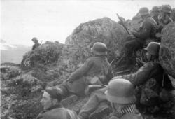 Fiskerhalsfronten eller Litzafronten? Juli 1941 - oktober 19