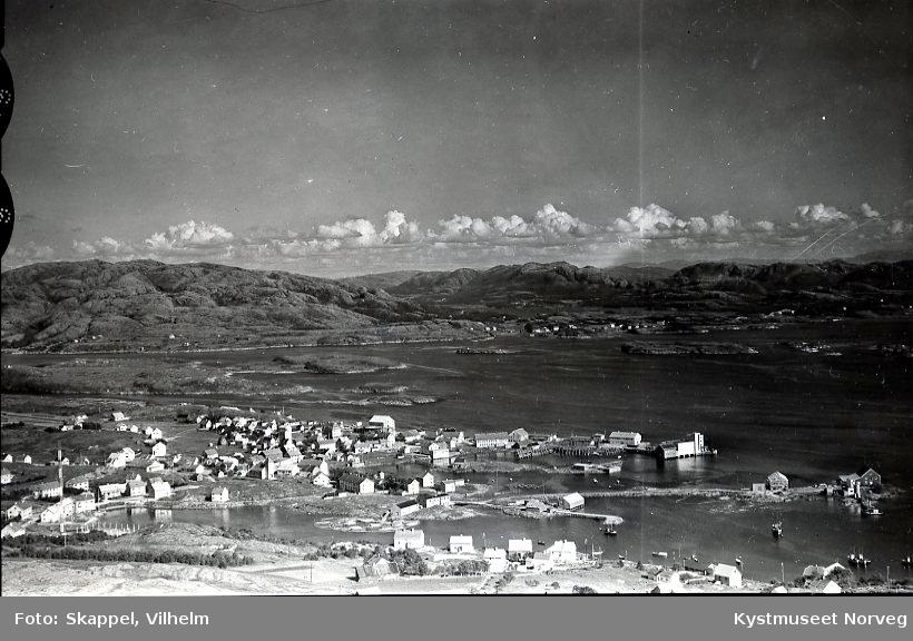 Flyfoto over Rørvik