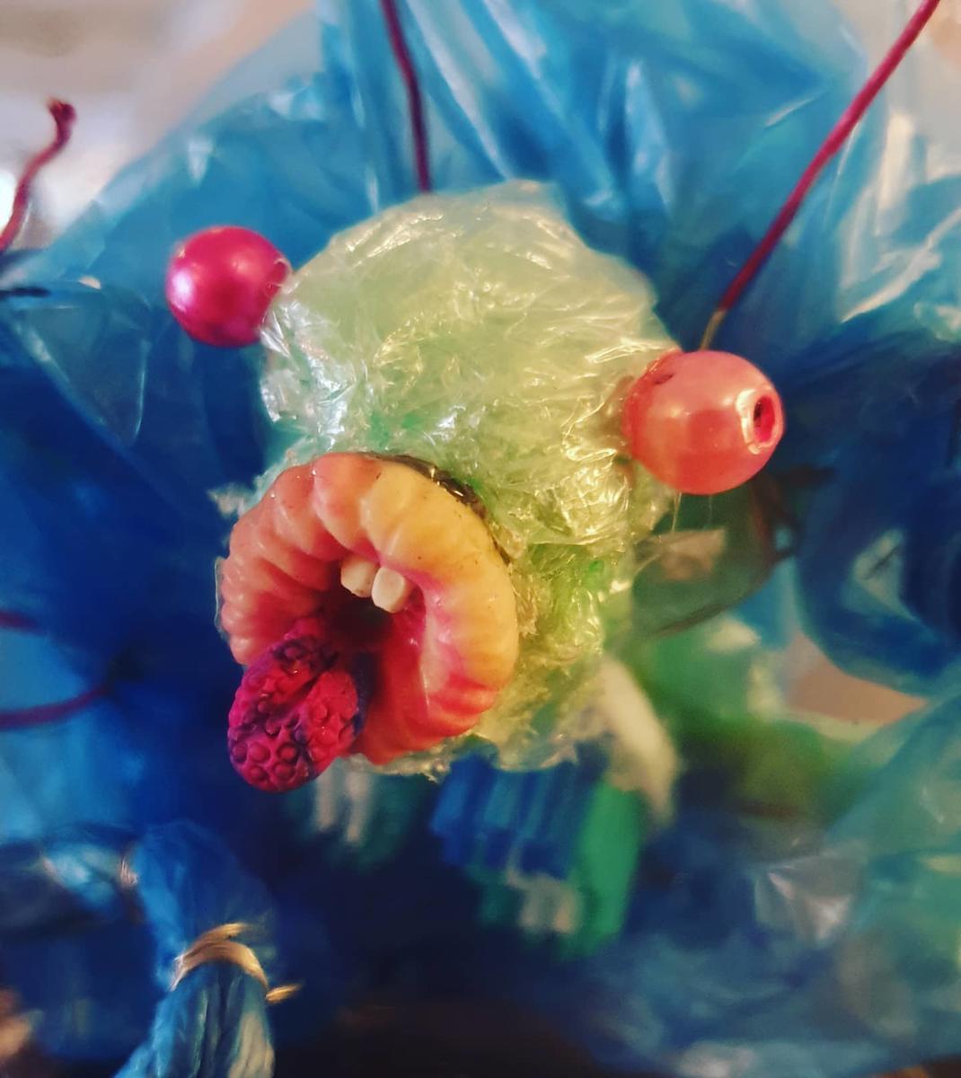 Plastmonster laget av Kristin Günther og Pjotr Sapegin (Foto/Photo)