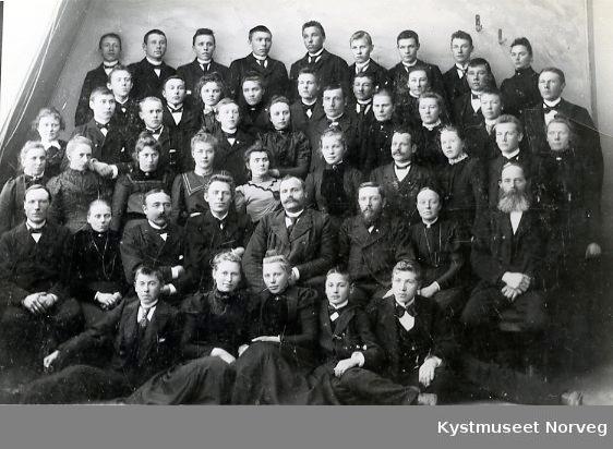 Nærøy? Folkehøyskole 1901