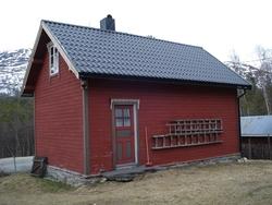 Den gamle skulen i Rånå i Lesja.