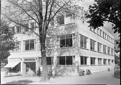 Porsgrunn Folkerestaurant ca. 1940-41.  Parkbygget, Porsgrun