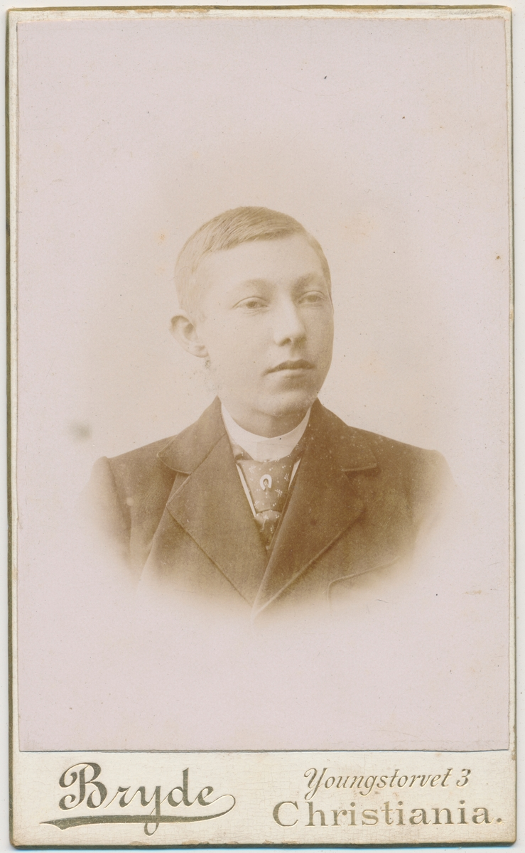 Portrett av ung gutt, ukjent