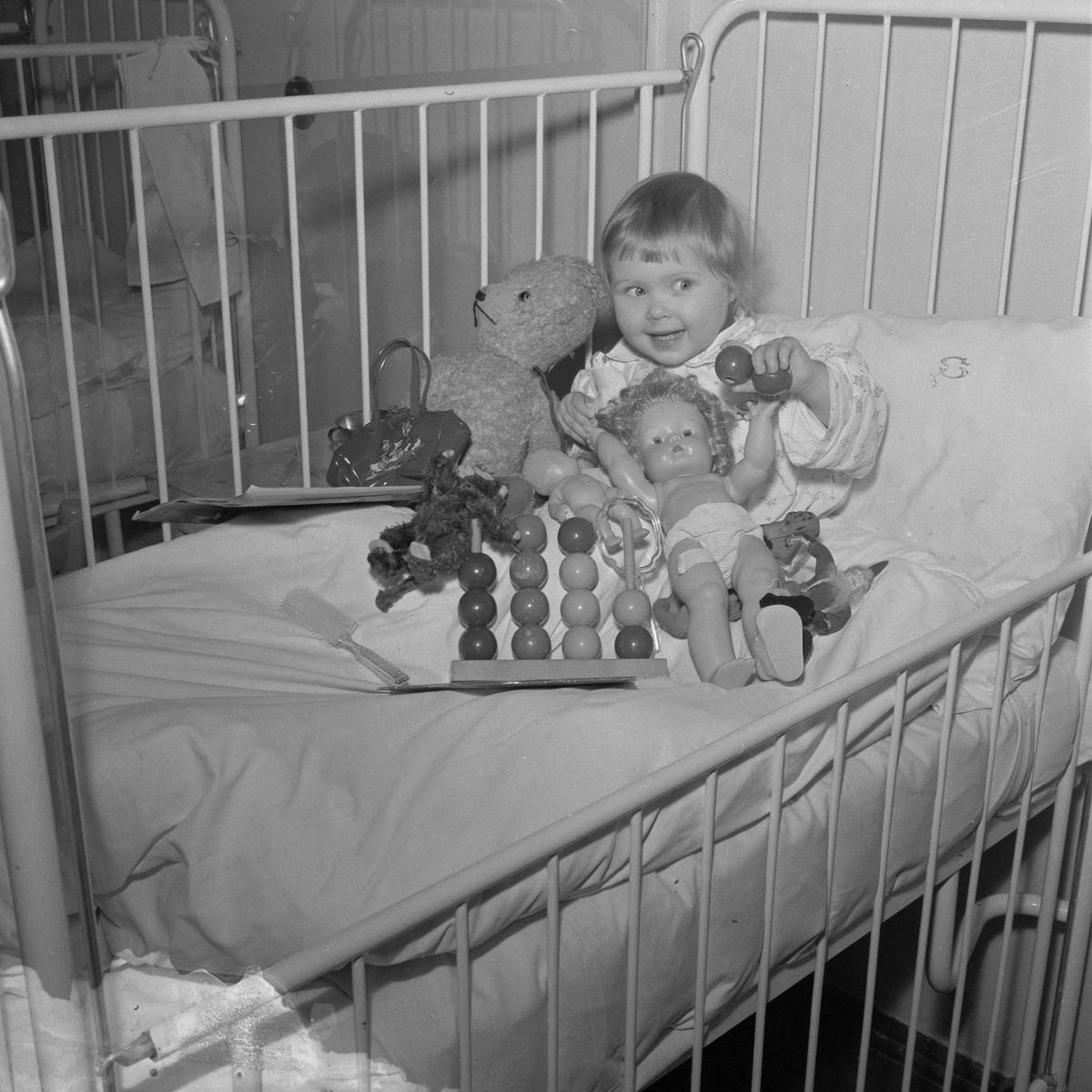 Jul på barneavdelingen på Sentralsykehuset