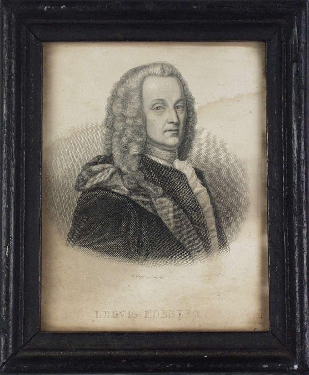 Portrett av Ludvig Holberg.