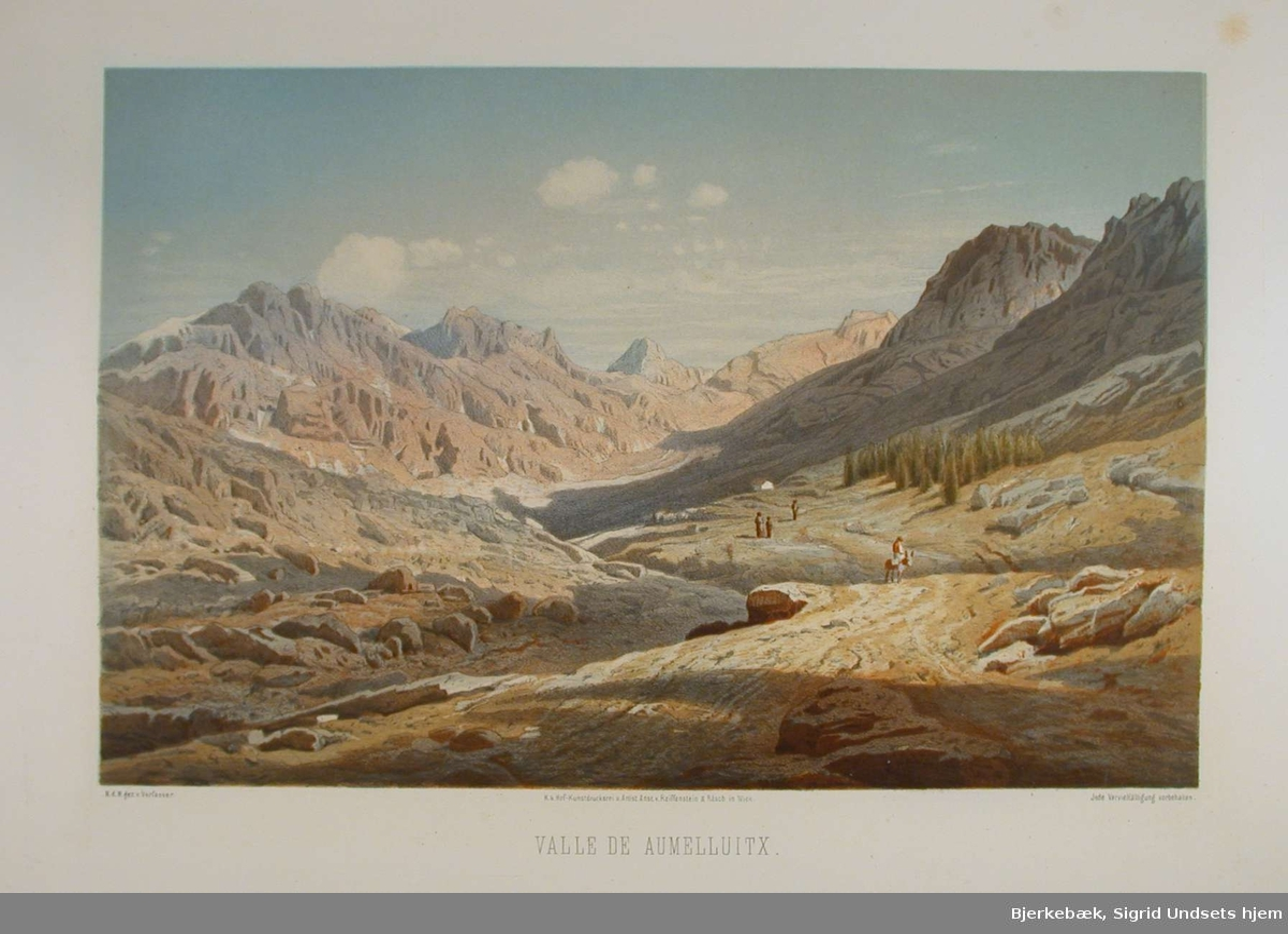 En fjelldal