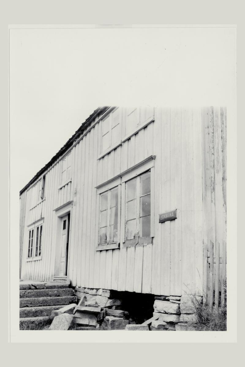 eksteriør, postkontor, Jønnvika, postskilt