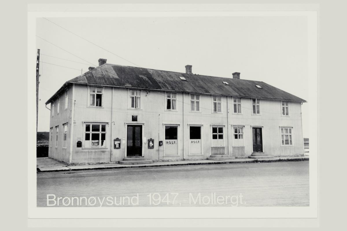 eksteriør, postkontor, 8900 Brønnøysund, postskilt, postkasse