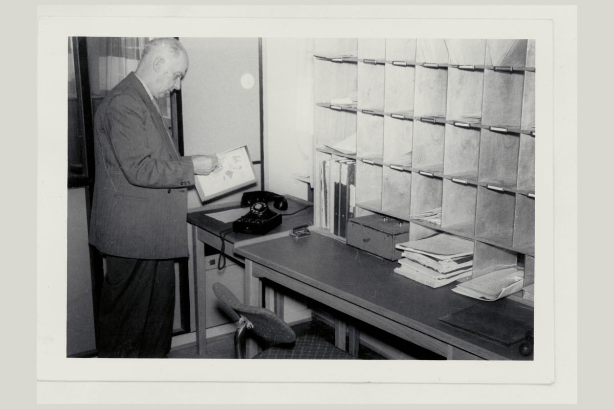 interiør, postkontor, verdireol