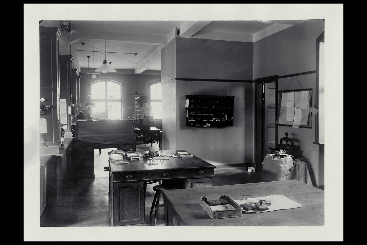 interiør, postkontor, 9400 Harstad, brev- og pakkeavdelingen