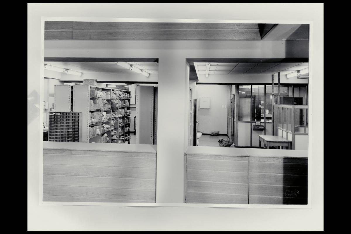 interiør, postkontor, 7007 Trondheim, pakkepost