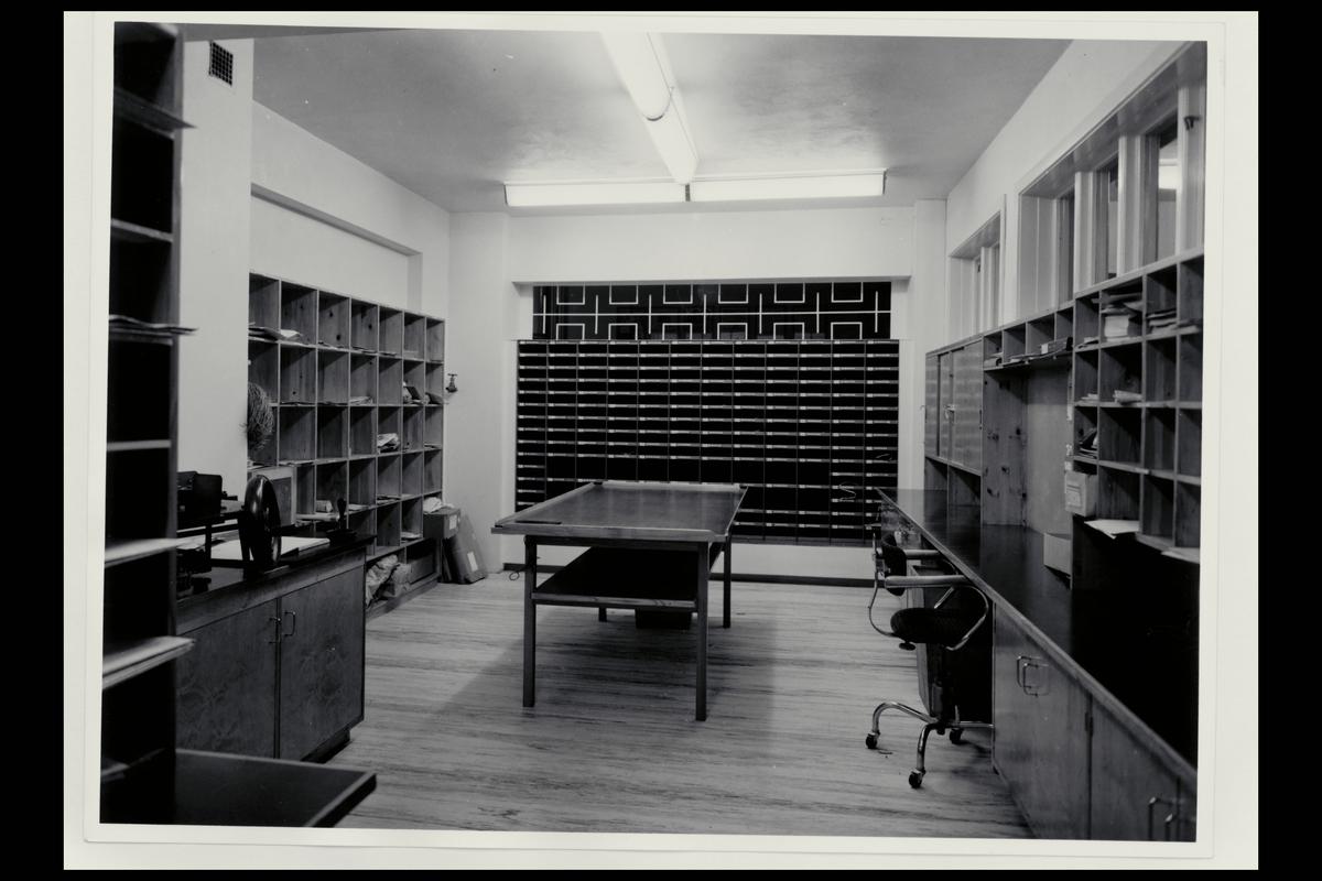 interiør, postkontor, 8400 Sortland, postbokser