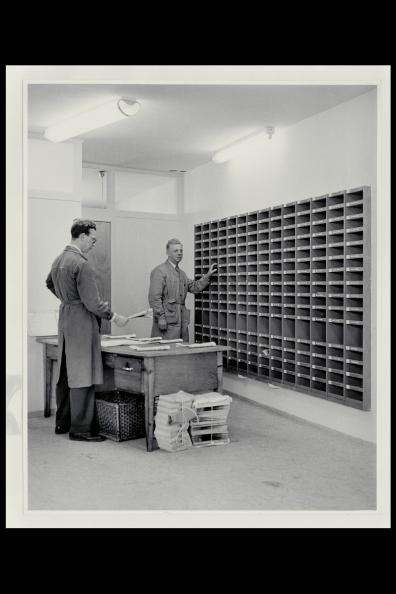 interiør, postkontor, 5400 Stord, postbokser, personale