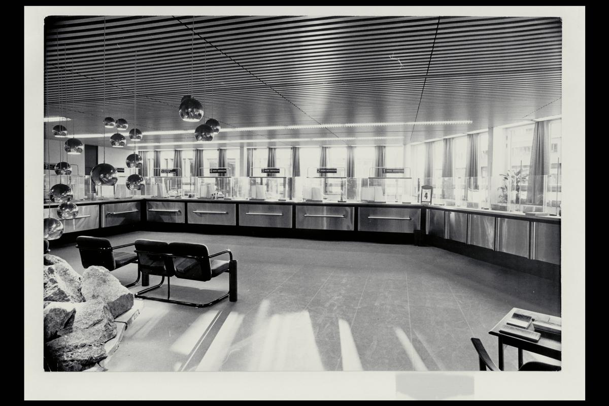 interiør, postkontor, 0130 St. Olavs plass, publikumshall