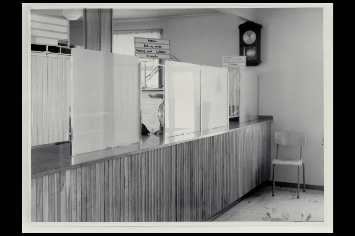 interiør, postkontor, 6100 Volda, publikumshall
