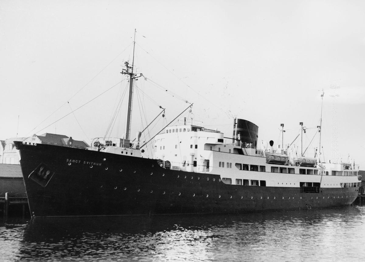 transport båt, eksteriør, M/S Sanct Svithun, ved kai