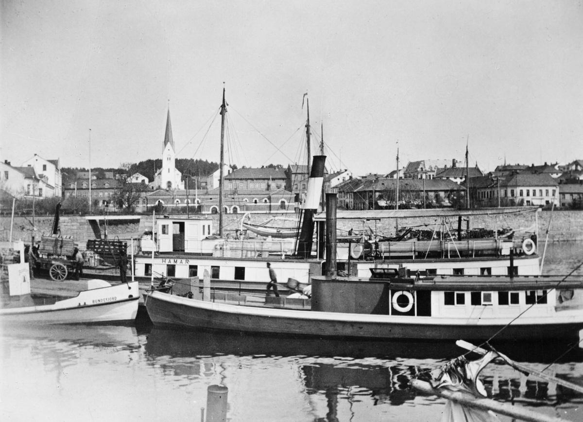 transport båt, eksteriør, Mjøsa, ved kai, D/S Letvindt