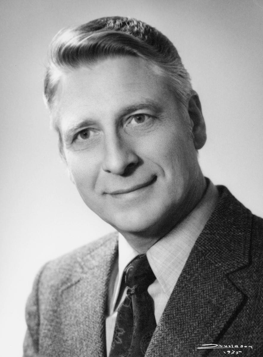 postmester, Nordby Lyder Magne, portrett