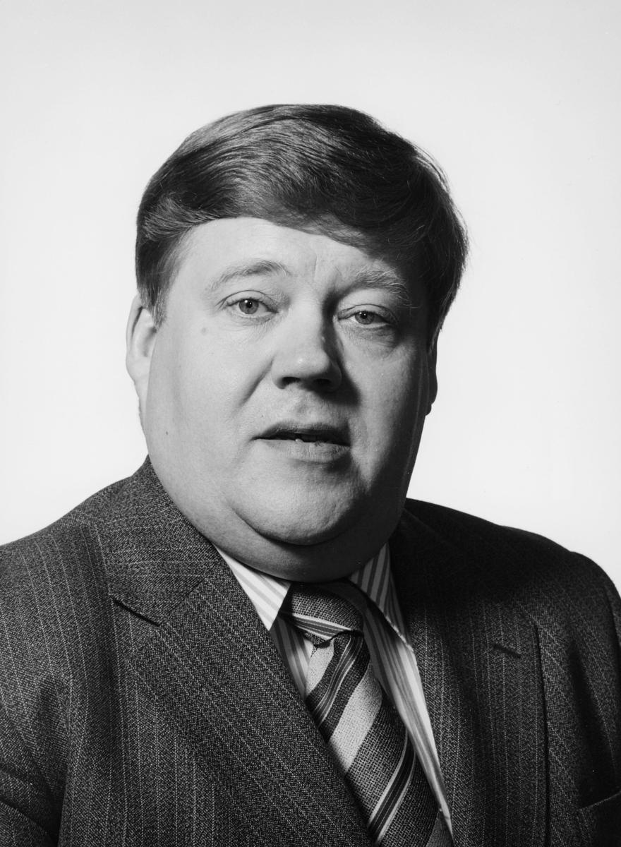 postmester, Pettersen Bjørn Flage, portrett