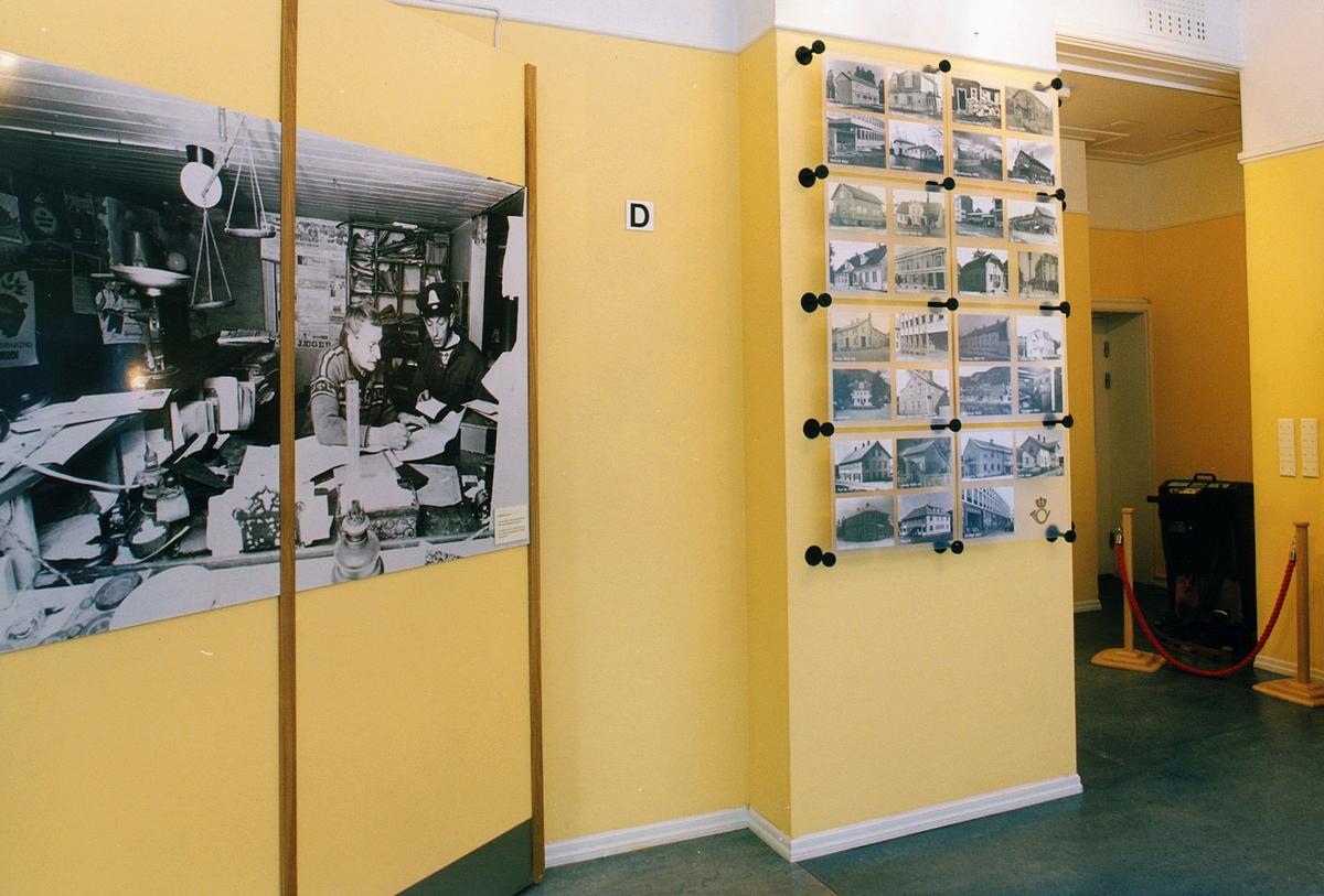 Postmuseet, Oslo, utstilling, bilder fra gamle postkontor