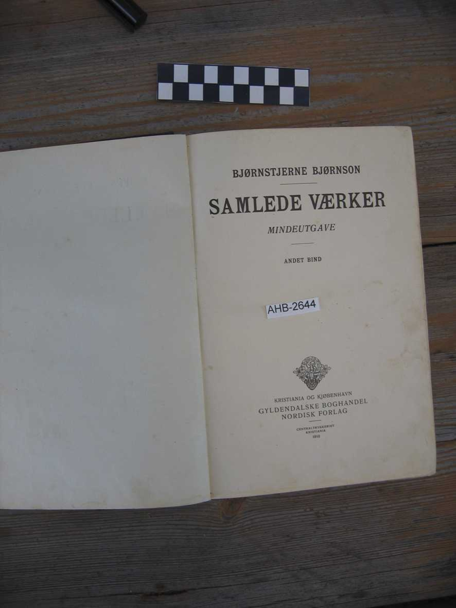 Bok - samlede verker