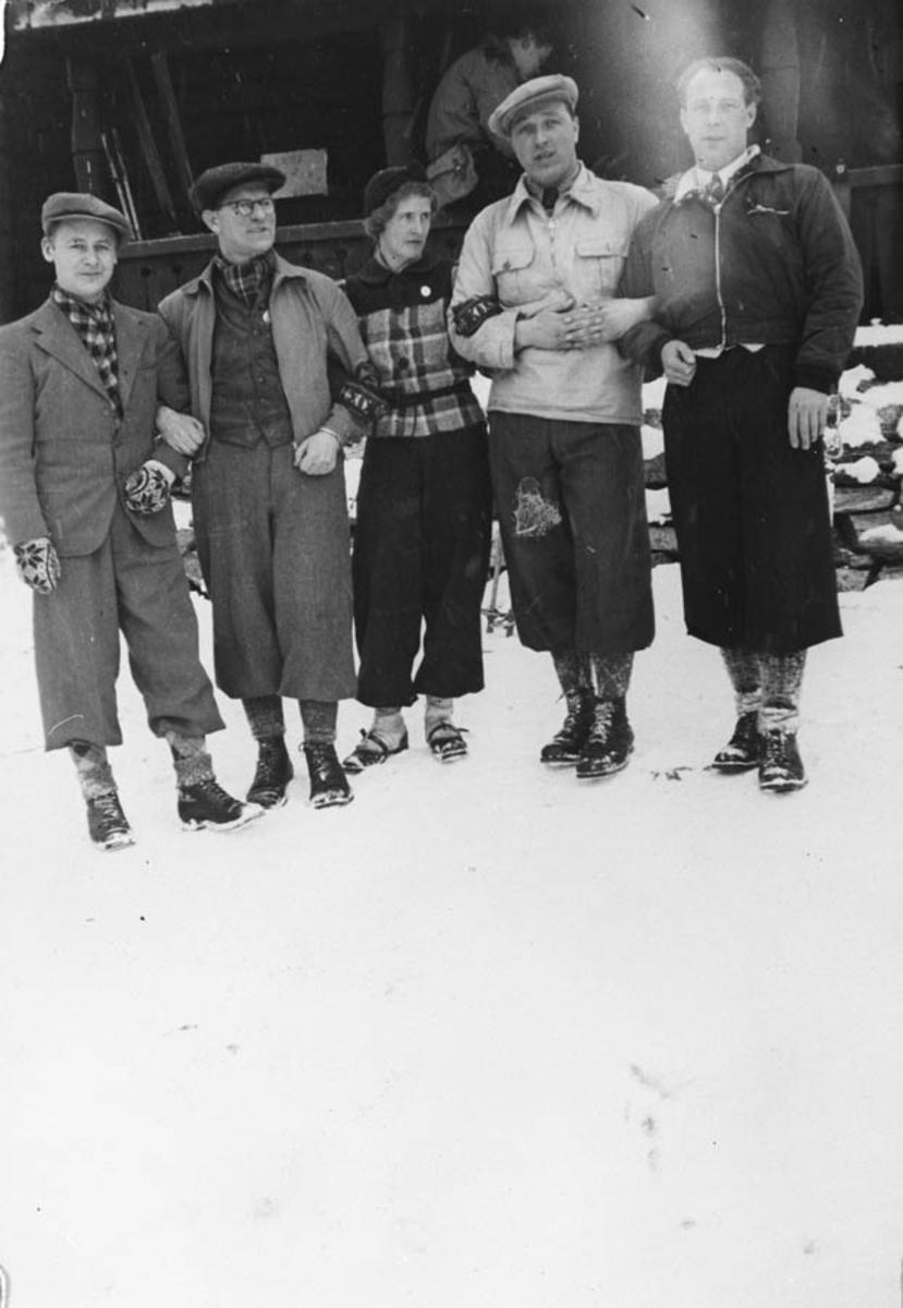 Lektorer ved Ski realskole.